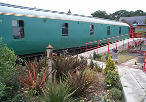 Heritage Centre in vintage rolling stock